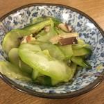 成田家 - 白ウリの酢の物