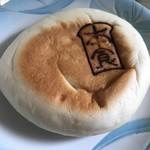 本間製パン - 白桃クリームパン
