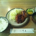 銀座 井泉 - メンコロ定食