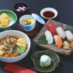 蔵よし - 料理写真:つゆ焼そばセット「津軽」