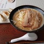ラーメンダイニング絆 - 四街道担々麺餃子セット