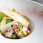 タコのマリネ風サラダ