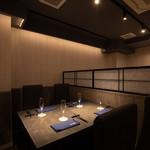 Col Bleu - 【接待・記念日に】テーブル席(4名様×3)