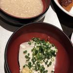 111834505 - 汲み上げ豆腐ととろろ(朝食ビュッフェ)