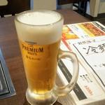焼肉 バンバミート - 生ビール500円税込