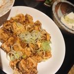 きじべえ - 麻婆豆腐アップ