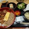 鳥まつ - 料理写真:きじ丼ランチ700円