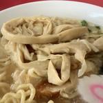 日和田製麺所 - メンマアップ