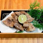 bodai - 鯨竜田揚げ