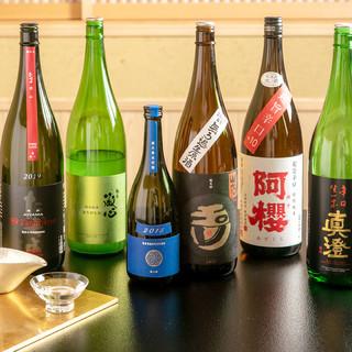 丁寧に作り上げる旬の逸品と、日本酒のマリアージュ