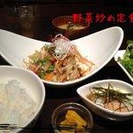 Ni-Yon - スタミナ野菜炒め定食☆☆☆