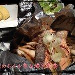 Ni-Yon - キノコと鮭のホイル包み焼き ☆☆☆