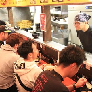麺侍誠は質の良いサービスの提供を心掛けております