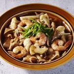 海老と野菜のラートナー