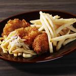 フィッシュ&チップス グリーンマンゴソース(プラー&マンファラントード)