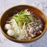 センレックナーム(タイの汁麺)