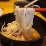 大阪カオマンガイカフェ - Set B(ミニトムヤムラーメン)