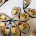 オムニ食堂 - 料理写真:韓国海苔巻き