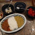 ブラン亭 - 豆&チキン