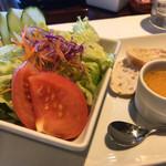 タイヨー ステーキ ハウス - TAIYO STEAK HOUSE(サラダ、スープ、パン)