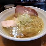 111867543 - 鶏清湯塩ラーメン