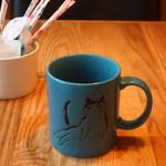 ねことふじい - ホットコーヒー