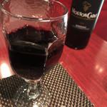 ラ ターブル エディアール - セットドリンクの赤ワインもおいしい