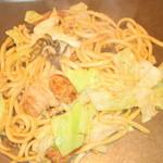 お多福 - 料理写真:ホルモン焼きうどん
