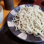 Dashinsoan - 常陸秋蕎麦 中盛り (1000円)
