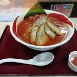 海老秀 - 辛味噌チャーシュー麺 大盛り