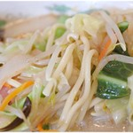 長崎亭 - 若干ヤワめな麺。