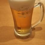サイゼリヤ - キリン一番搾りジョッキ 399円 ♪