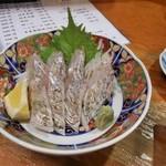 111884956 - 太刀魚刺身(炙り)