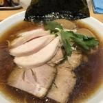 麺屋 薫風 - 特製大山鶏中華そばアップ