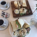 Cafe ルヴェ - 料理写真:いただきます