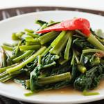 シンガポール海南鶏飯 - クーシン菜