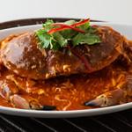 シンガポール海南鶏飯 - チリクラブ