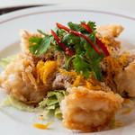 シンガポール海南鶏飯 - バタープロウン