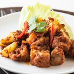 シンガポール海南鶏飯 - レンダンカレー