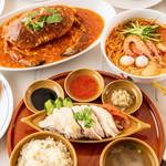 シンガポール海南鶏飯 - 料理