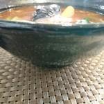 111895716 - 何と!ラーメン丼に入ってます( ; ゜Д゜)マジカ