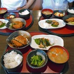 三華 - 料理写真:朝食メニューの「和定食」