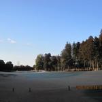 石岡ゴルフ倶楽部 - 真白なコース