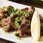 高砂てっぱんタナテツ - 料理写真:厚切り牛タン塩焼き