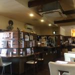 町カフェ - 店内