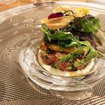 Restaurant Cinq - 4.五島列島の本鮪 牛蒡チップ アボガドタルタル