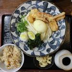 Chibuneya - ランチセットA(950円、真上から)