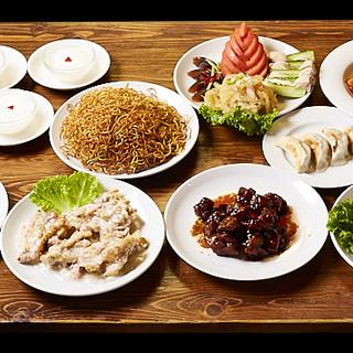 各種宴会に最適◎4種のコースで遼寧省料理をご堪能あれ