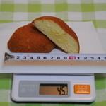 コンチェルト - カスタードクリームパン 100円