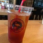 カフェ フラミンゴ - アイスダージリン(ストレート)セットメニュードリンクなので100円(単品だと350円)